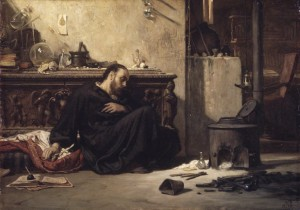 Elihu Vedder, The Dead Alchemist